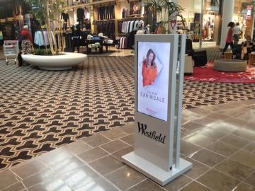 IAdea Replaces Prints at Westfield Malls