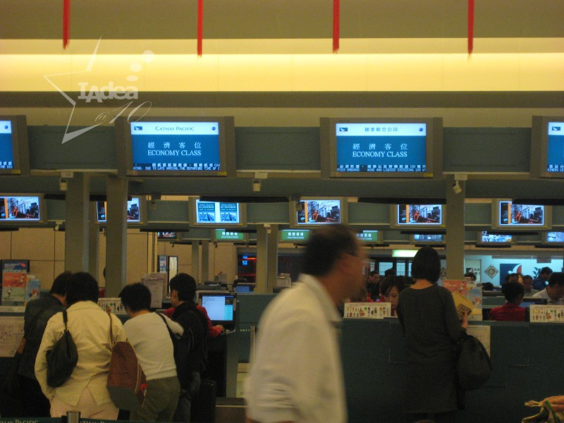 400+ Digital Signage Systems by IAdea Streamline Operation at Taiwan International Airport