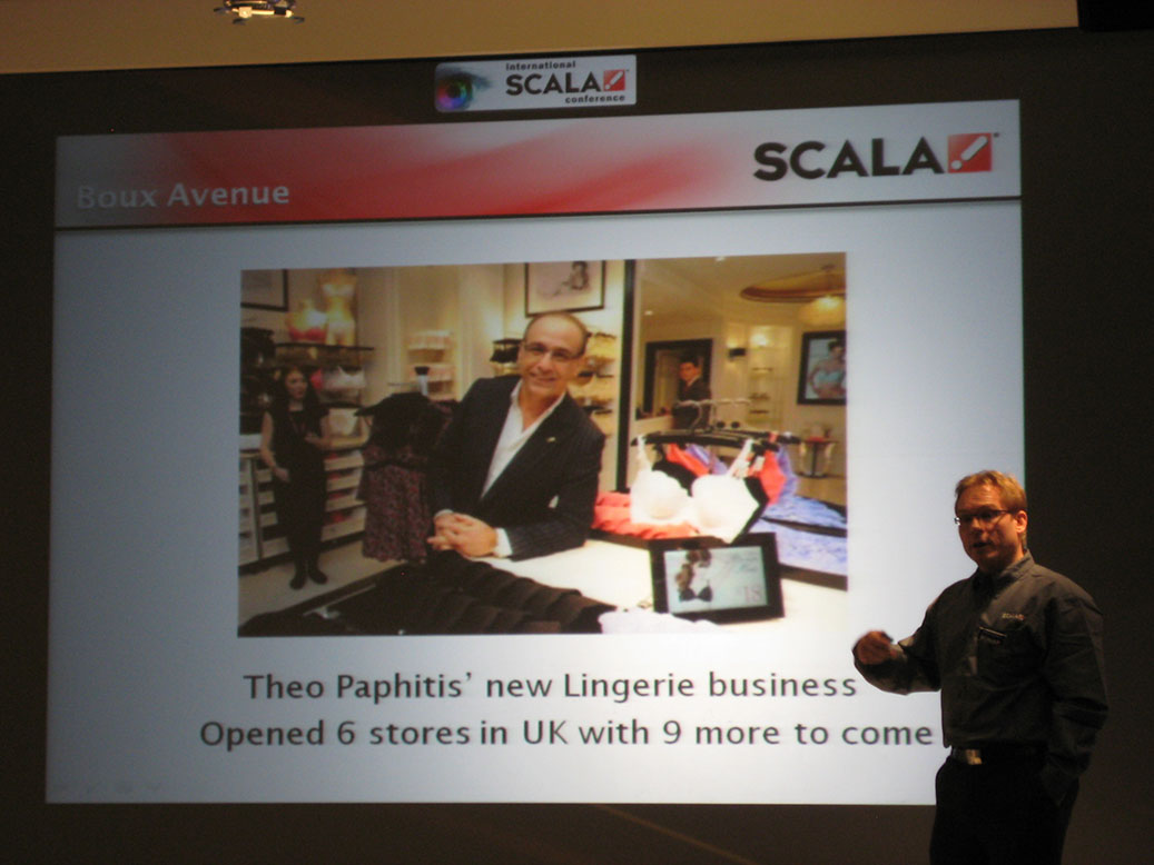 IAdea Signboard Highlighted at Scala Partner Conference