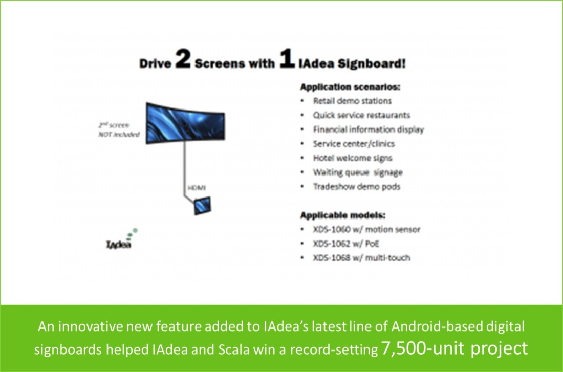 IAdea partnered with Scala working on a project of 7,500 units