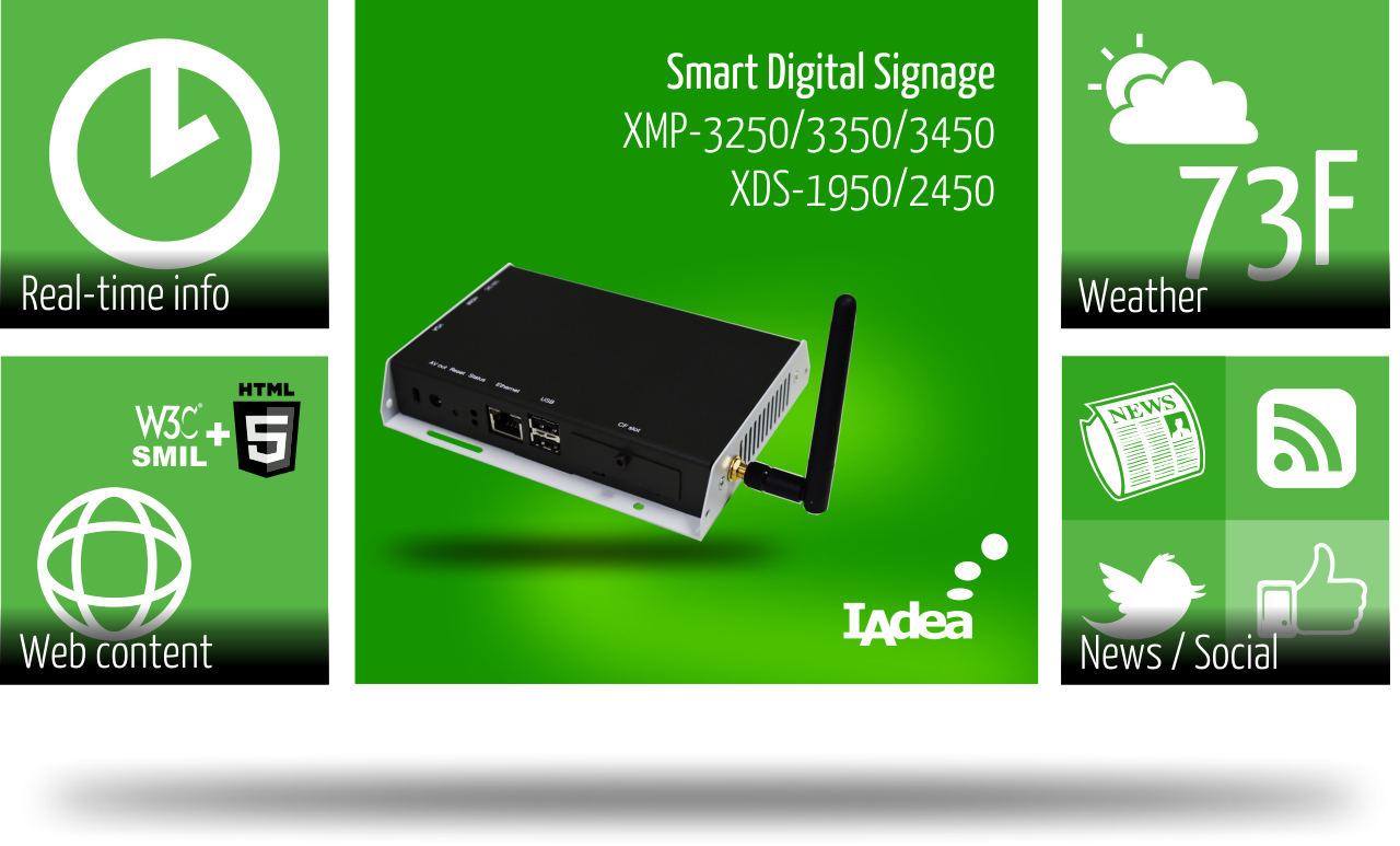 IAdea's New HTML5 Web Appliances Unify Digital Signage Content Formats