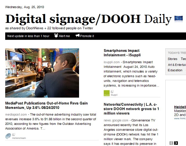 IAdea Daily brings you the latest news in digital signage