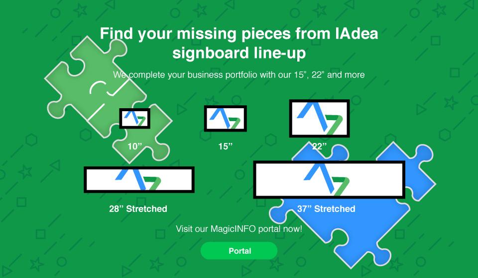 Where's your #digitalsignage missing piece? Ask IAdea