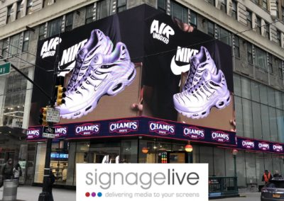 Champs Sports – 10 Times Square, NYC