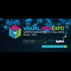 [November 2-3, 2016] Visual Asia Expo 2016