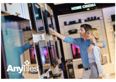 IAdea Releases AnyTiles Express 1.2, Award-Winning Video Wall Solution Upgrade to Target Electronic Stores and Supermarket Chains: Turning Screens into an Army of Revenue-generating Machines