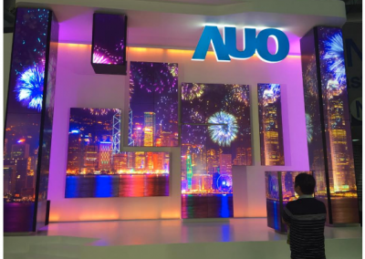 IAdea Award-Winning AnyTiles to Enable AUO's Video Wall Exhibition at Touch Taiwan 2017: The Largest Freeform Video Wall as the Highlight of the Show