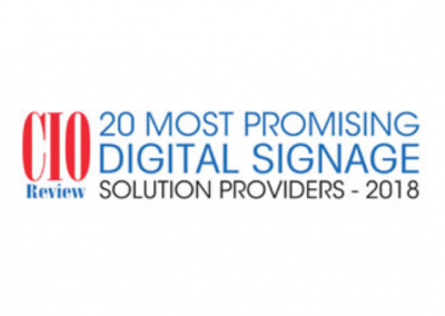IAdea Selected in CIOReview Top 20 Digital Signage Tech Companies – 2018