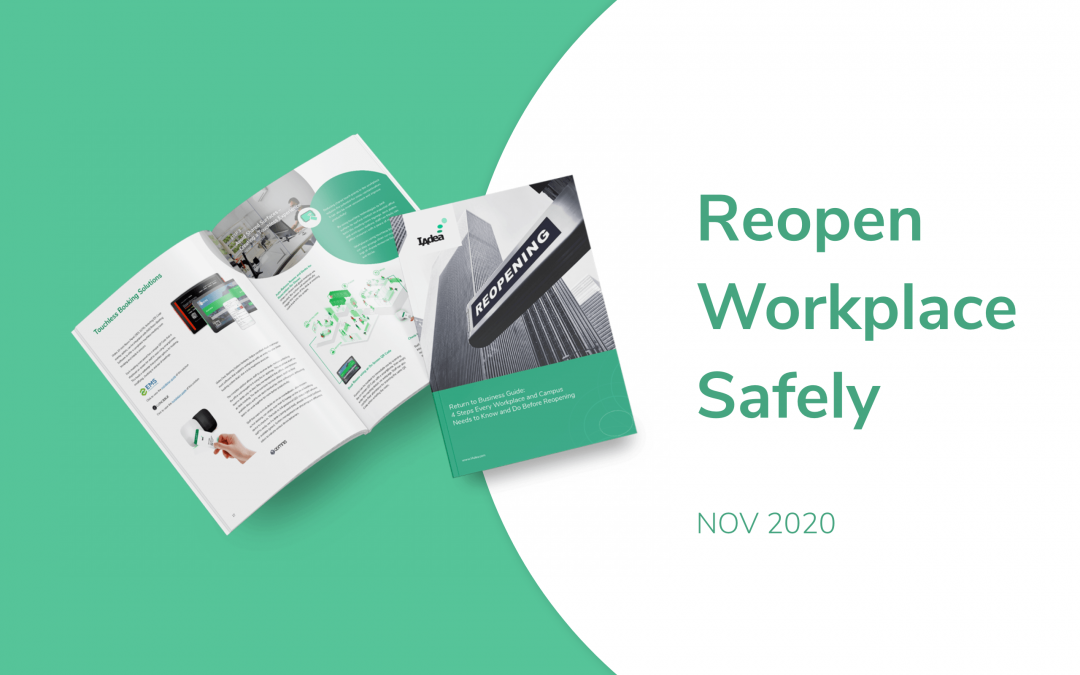IAdea November 2020 News – 4 Steps to Reopening Workplace